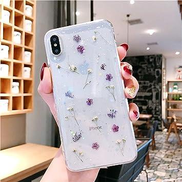 vraies fleurs coque iphone xr