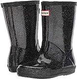 Hunter Kid's First Classic Starcloud Rain Boots (12 M US Little Kid) Black Multi