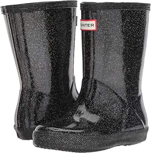 Toddler Black Hunter Boots (Hunter Kid's First Classic Starcloud Rain Boots (8 M US Toddler) Black)
