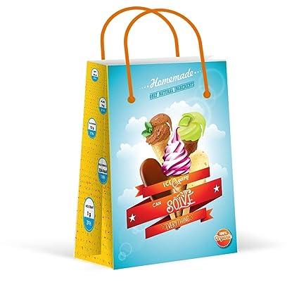 Amazon.com: Bolsas de fiesta premium de helado, bolsas de ...