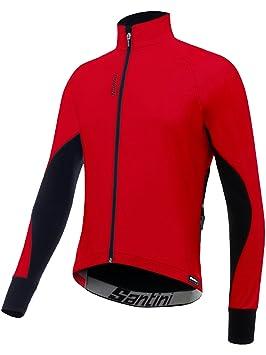 Chaqueta Ciclismo Santini 2017 Beta Winter Windstopper Rojo ...