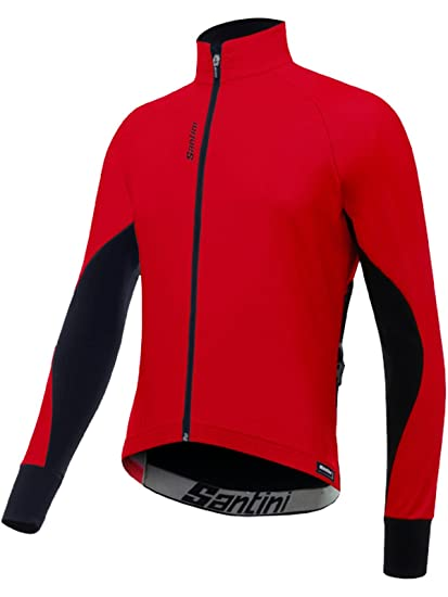 Amazon.com   Santini Red 2017 Beta Winter Windstopper Cycling Jacket ... 7e4487406