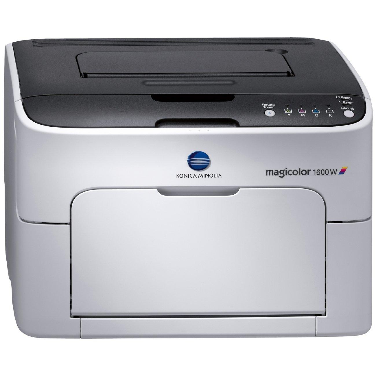 Amazon Konica Minolta Magicolor 1600W Laser Printer Office Products