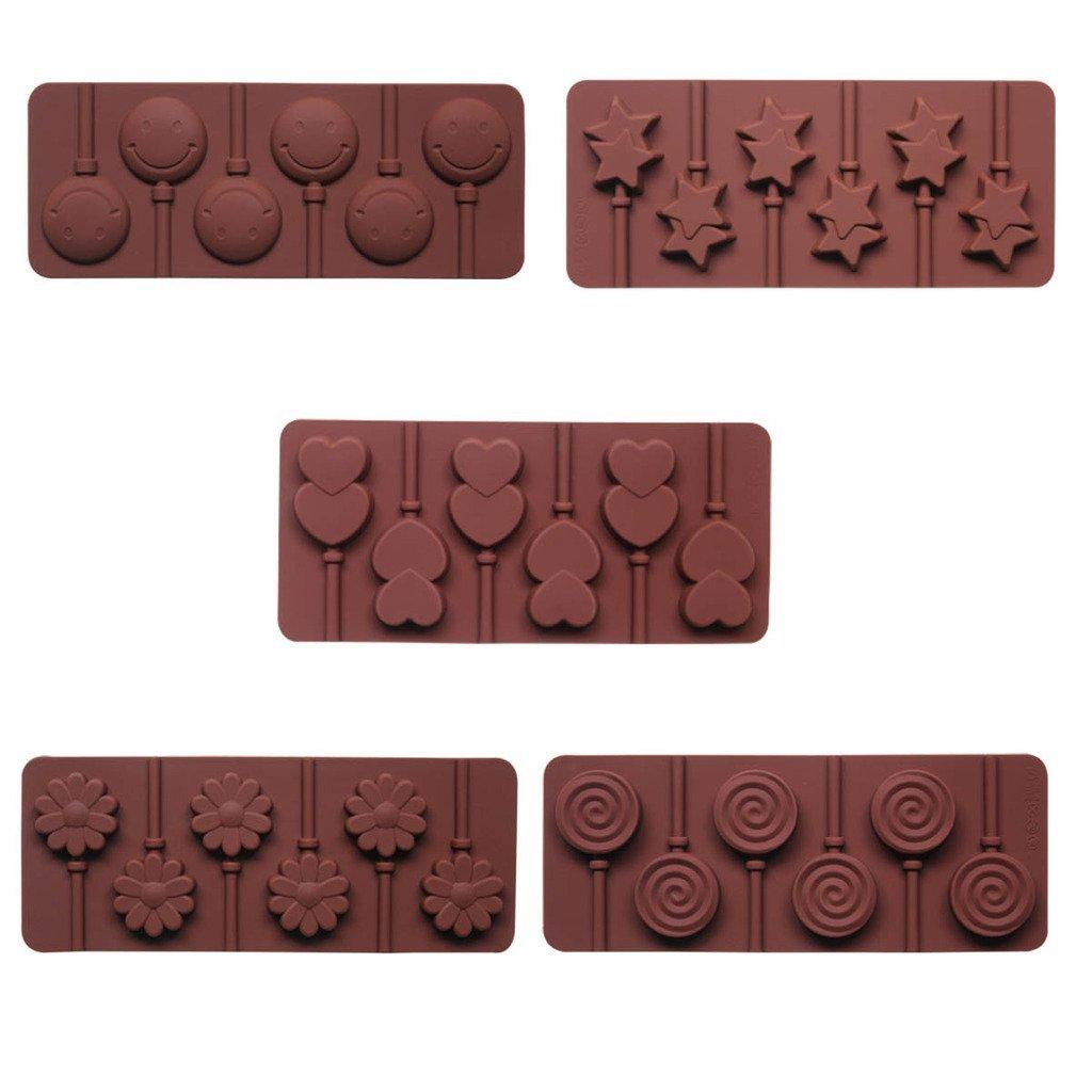 Stampi per Lecca Lecca di cioccolato