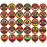 natural flavored coffee - Crazy Cups Flavored Coffee, Variety Pack Sampler, 30 Count