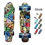 yotruth Penny Board Mini Cruiser Skateboard 22''