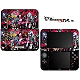 Monster High Ghoul Bloody Dolls Decorative Video Game Decal Skin Sticker Cover for the ''New'' Nintendo 3DS XL (2015-2017 Edition)