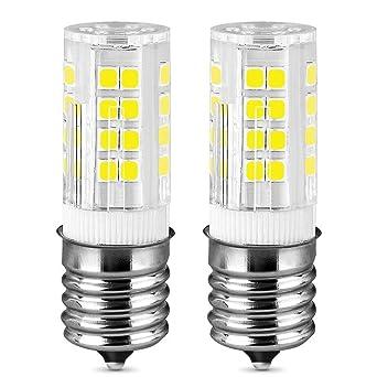 Bombilla LED E17 de 3,5 W para microondas, 3000 K, luz blanca ...