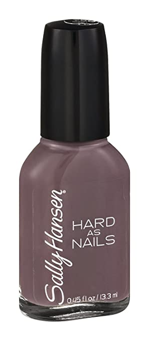 Amazon.com : Sally Hansen Hard as Nails Nail Polish, Tough Taupe ...