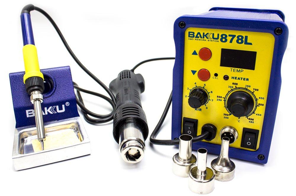 potenza 700 Watt Infocoste BAKU-878L Stazione di saldatura ad aria calda