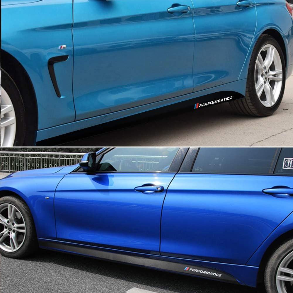 HLLebw Auto Pegatinas de Calcoman/ías para BMW E60 E61 E90 F10 F30 F31 F32 F33 F22 F23 F15 F85 G30