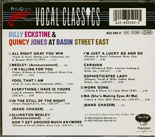 At Basin St. East : Live! by Eckstine, Billy (Image #1)