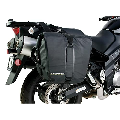 Nelson Rigg SE 2050 BLK Black Adventure Dry Saddlebag, 2 Pack