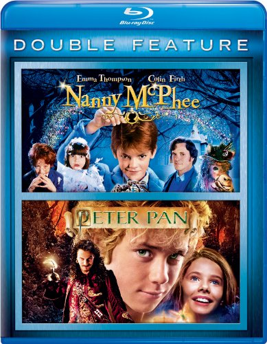 Blu-ray : Nanny McPhee/ Peter Pan (2 Pack, Snap Case, 2 Disc)