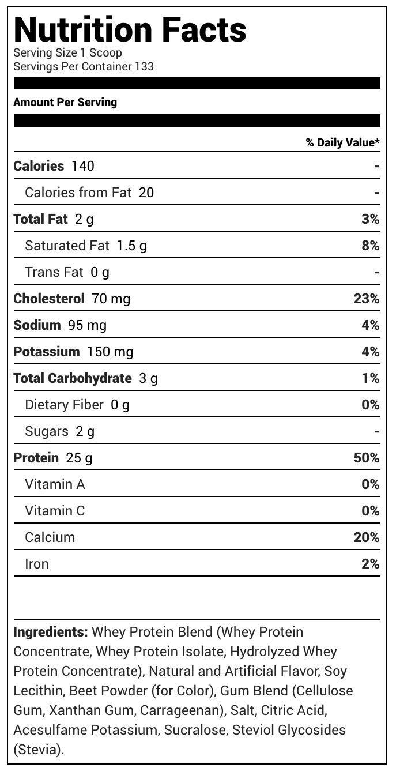 Dymatize Elite Whey Protein Isolate, Strawberry Blast, 10 Pound