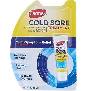 Carmex Cold Sore Treatment 0 07 oz