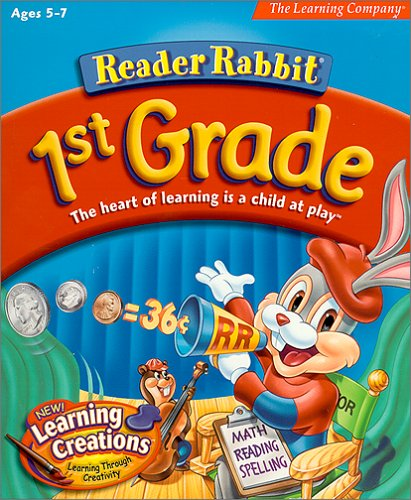 Early Learning Software - Reader Rabbit 1st Grade