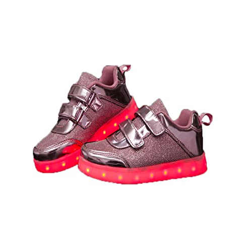 Unisex LED Carga 7 Colores USB Zapatos de Los Zapatos Luminosos Zapatos Deportivos con Luces Sneakers Zapatillas de Running para Niños Niñas Hombres ...