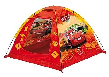 Smoby John 72504 Cars - Tienda de campaña infantil (120 x 120 x 87 cm