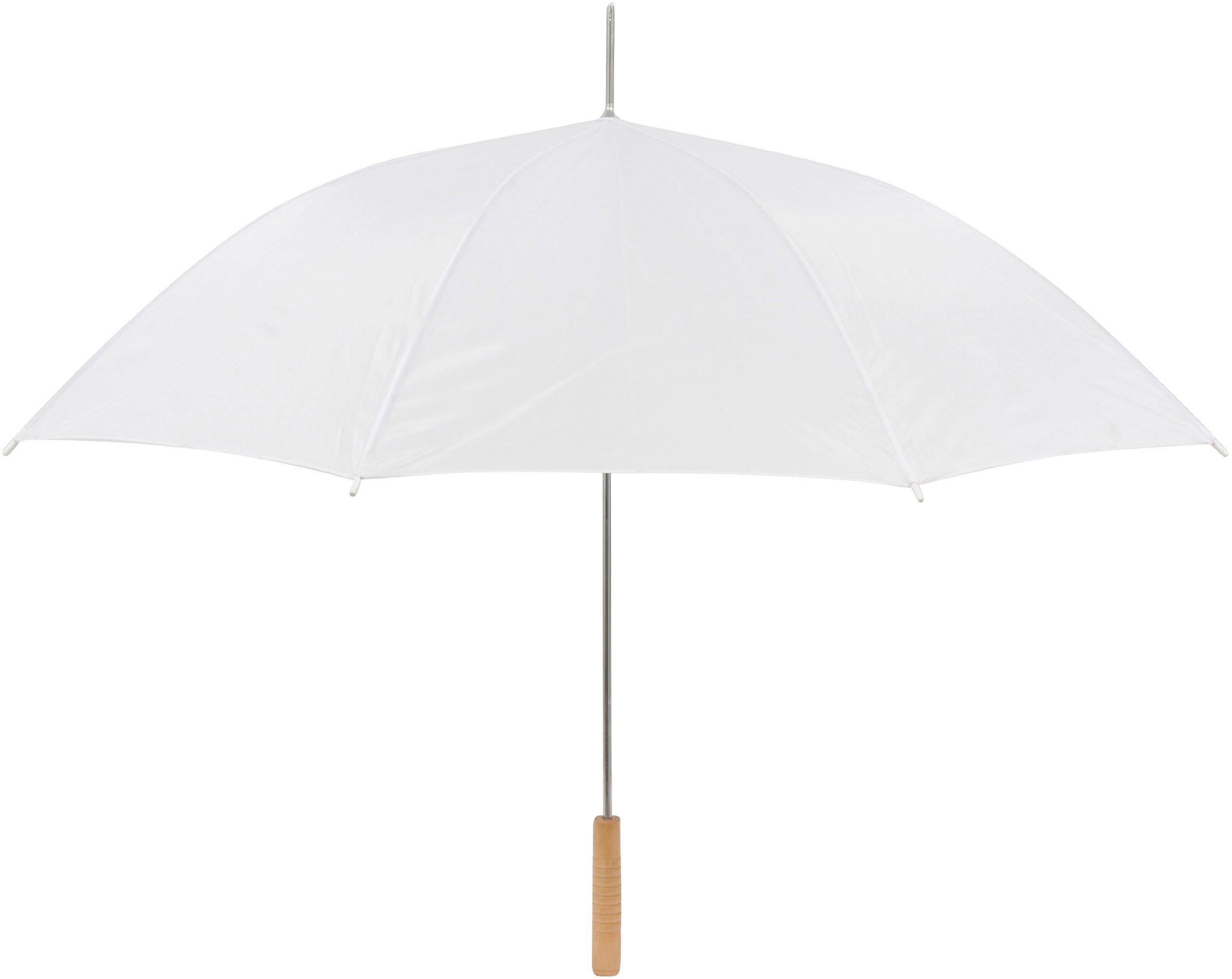 Wedding Umbrella - 60'' Umbrella  - Manual Open By Anderson Umbrella (White)