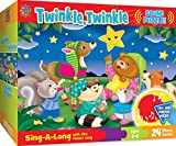 MasterPieces Sing-A-Long Twinkle Twinkle - 24 Piece Kids Puzzle with 30 Second Sound Chip
