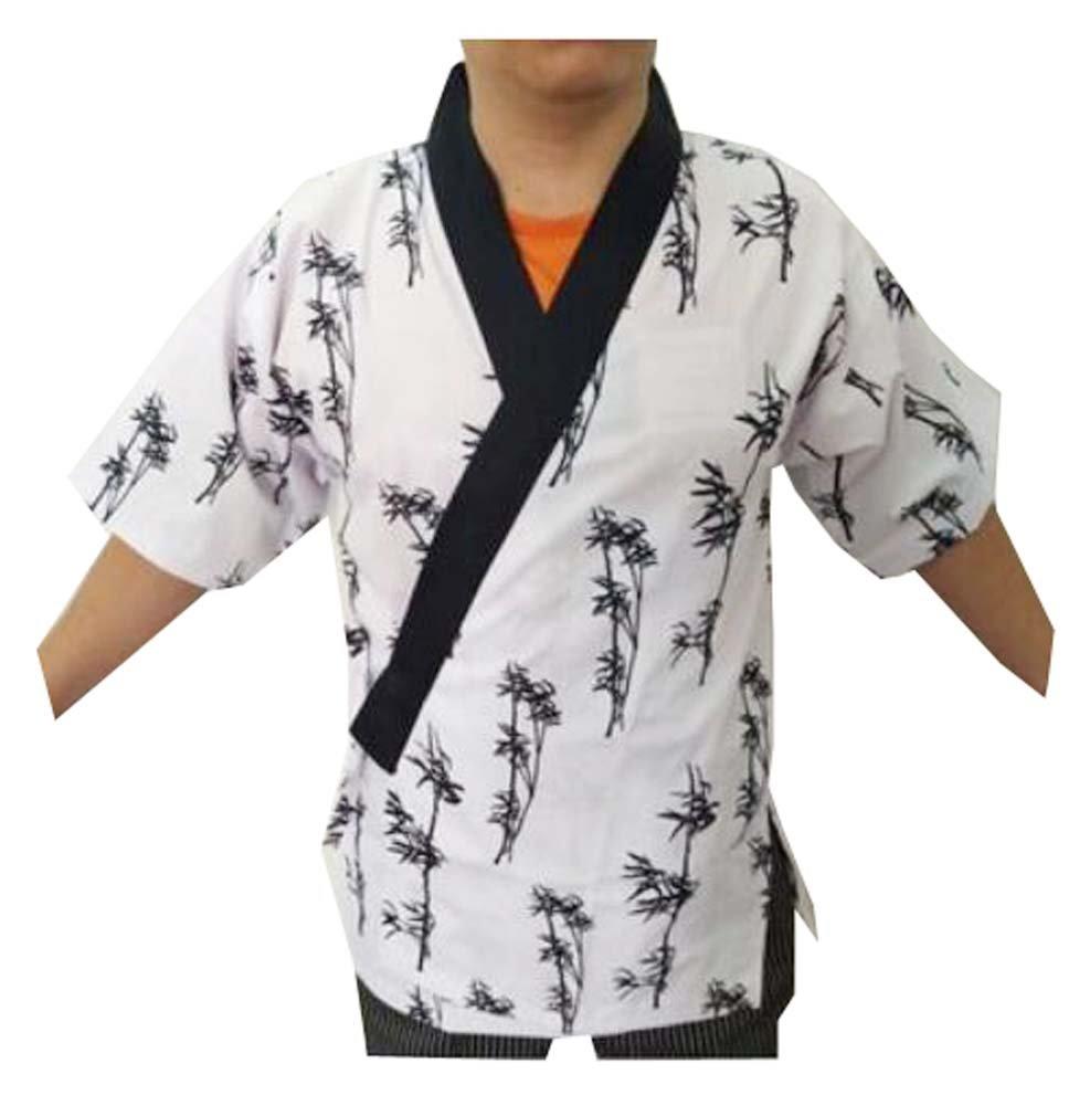 Black Temptation Mujeres Hombres Chaquetas de chef Abrigo Sushi Restaurante Bar Uniforme de ropa japonesa - C: Amazon.es: Hogar