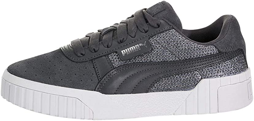 PUMA Womens Cali Sequin Sneakers, | Shoes