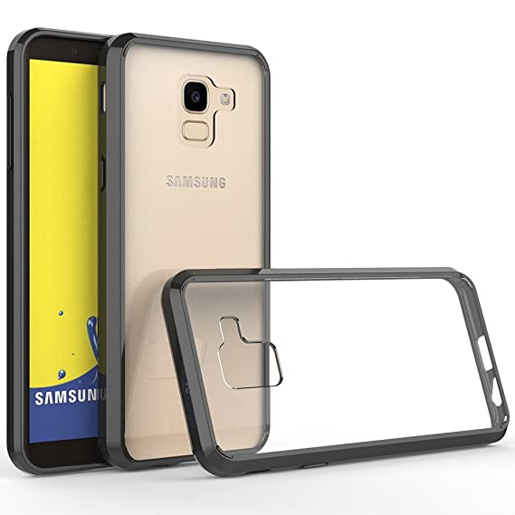 quality design 5244b 37392 Olixar Samsung Galaxy J6 2018 Bumper Case - Hard Tough Cover ExoShield -  Shock Protection - Slim Design - Black