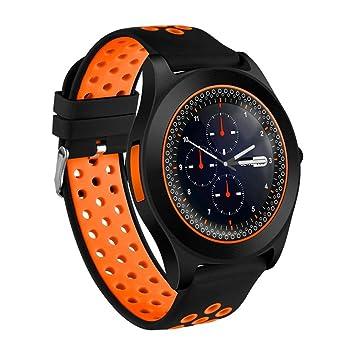 BEUHOME Smartwatch TF8, Reloj Inteligente con Ranura para ...