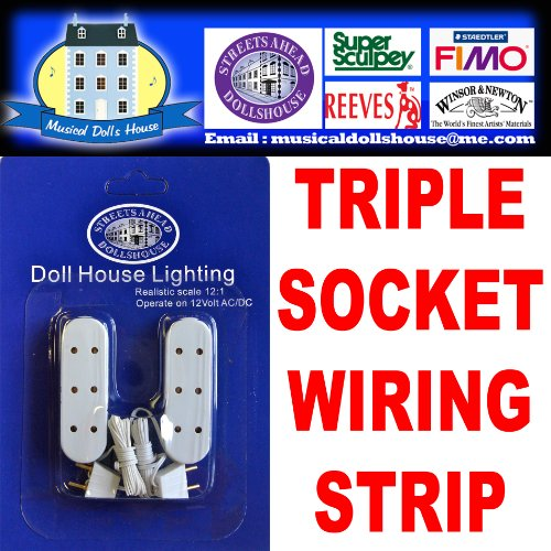 Excellent Dolls House Light Wiring Kit For Strip Lighting 1 12Th Includes Wiring Digital Resources Cettecompassionincorg