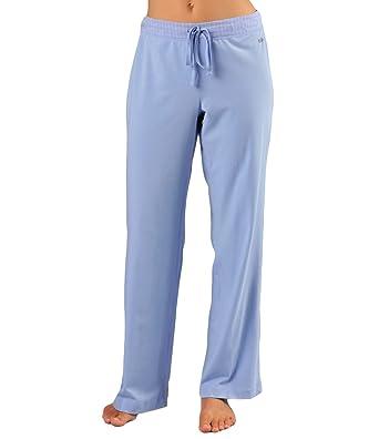 Naked Womens Essential Casual Pants Double Cotton Loungewear Gauze Stretch  Lounge Pajama Bottom Sleepwear for Ladies 065f6b760