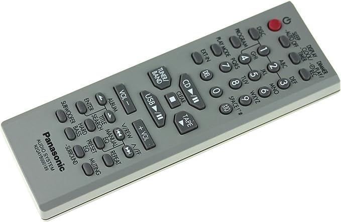 Mando a distancia Panasonic N2QAYB000189 para SA-AK960, SC-AK960: Amazon.es: Electrónica