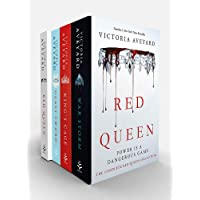 Red Queen 4 Book Flexibox Set