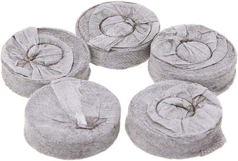 certylu Herramienta de jardinería, 30/35/38 / 40mm 5 / 10Pellas de turba Jiffy Pellets de Inicio Semillas Pallet Plántulas Bloques de Suelo