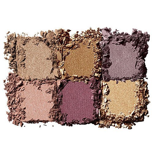 Golden eyeshadow palette