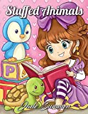 #10: Stuffed Animals: An Adorable Coloring Book with Cute Animals, Playful Kids, and Fun Scenes for Relaxation