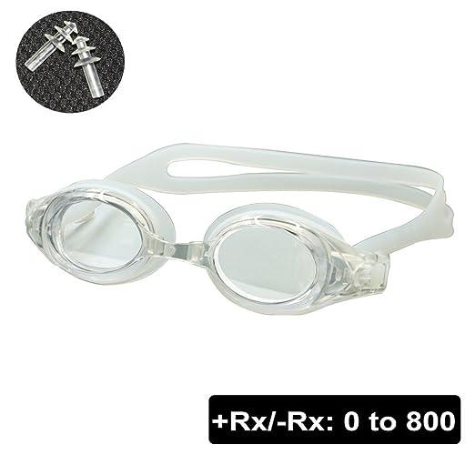 1abb5183c0e4fb EnzoDate Optique Nager Lunettes hypermétropie myopie de RX + 1 à + 8-1 à-8  Adultes Enfants des Forces différentes pour chacun des Deux Yeux   Amazon.fr  ...