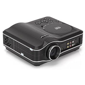 Multimedia LED Proyector incorporado Reproductor de DVD, puerto ...