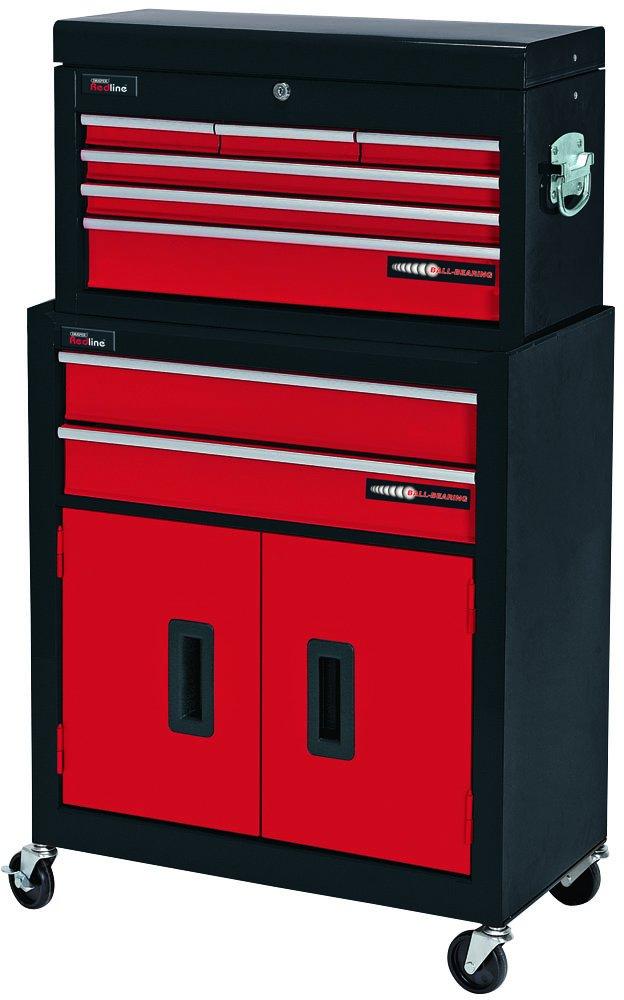 DRAPER 80927 Roller Schrank und Werkzeugkasten mit Schränkchen mit 2 ...