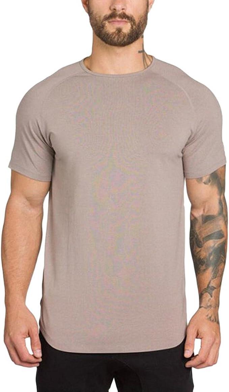 T-Shirt da Uomo,YanHoo Felpa con Cappuccio Uomo Manica Corta Stampata a Manica Corta Canotte da Uomo,Magliette Intime e Camicie