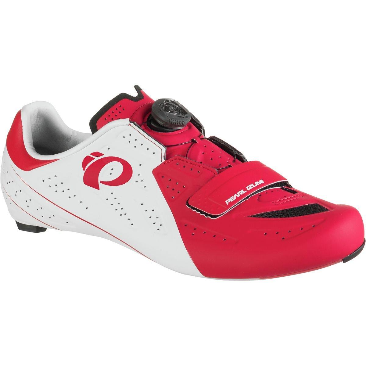 【2019春夏新色】 (パールイズミ) Pearl Izumi (46) White/True Shoe ELITE Road V5 Cycling Shoe メンズ ロードバイクシューズWhite/True Red [並行輸入品] 日本サイズ 29.5cm (46) White/True Red B07G764VVV, 亀のすけ:cb4b2b8a --- by.specpricep.ru