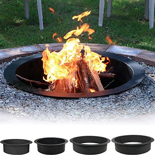 Sunnydaze Heavy Duty Fire Pit Rim Make Your Own In Ground