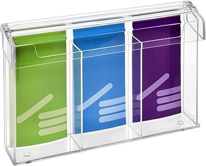 DIN LANG und 1//3A4 Prospektbox,NEU Prospekthalter mit Deckel wetterfest