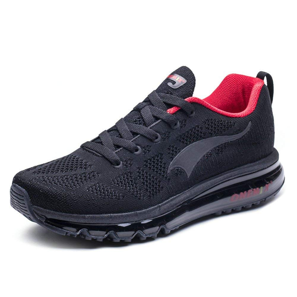 ONEMIX Chaussures de Course pour Homme 3D Knit Coussin dair Athletic Sports Running Sneaker