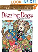 #6: Creative Haven Dazzling Dogs Coloring Book (Adult Coloring)