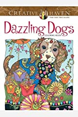 Creative Haven Dazzling Dogs Coloring Book (Adult Coloring) Paperback