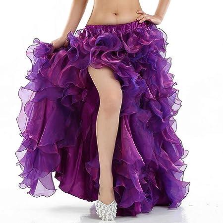 Vestido de baile de las mujeres Falda de danza del vientre for ...