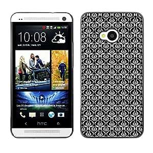 ZECASE Funda Carcasa Tapa Case Cover Para HTC One M7 No.0000871