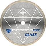 7 inch diamond wet saw blade - QEP 6-7006GLQ 7-Inch Continuous Rim Glass Tile Diamond Blade, 7mm Rim Height, 5/8-Inch Arbor, Wet Cutting, 8730 Max RPM