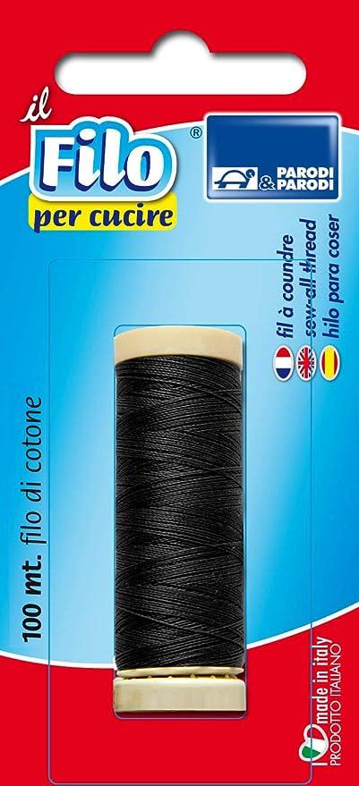 Parodi & Parodi - Bobina de hilo de algodón para costura (100 m ...